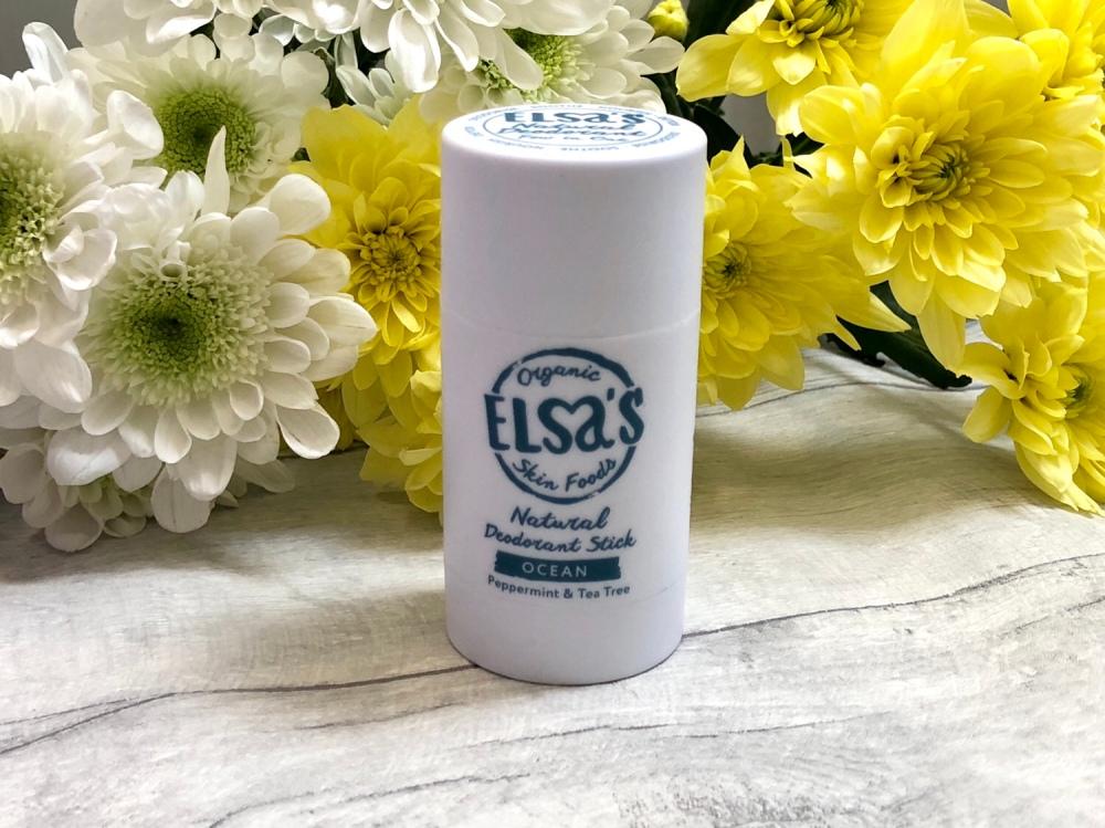 Elsa's Organic Skin food Ocean Deodorant