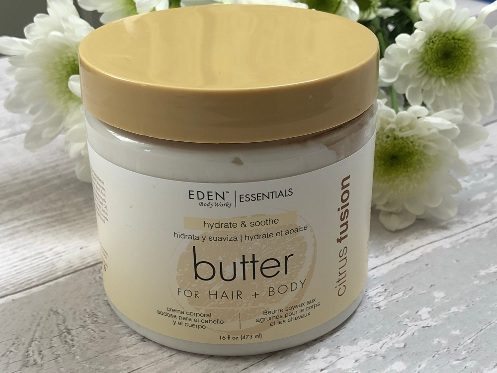 Eden Bodyworks Citrus Fusion Hair + Body Butter
