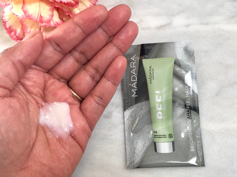 Madara brightening AHA peel mask