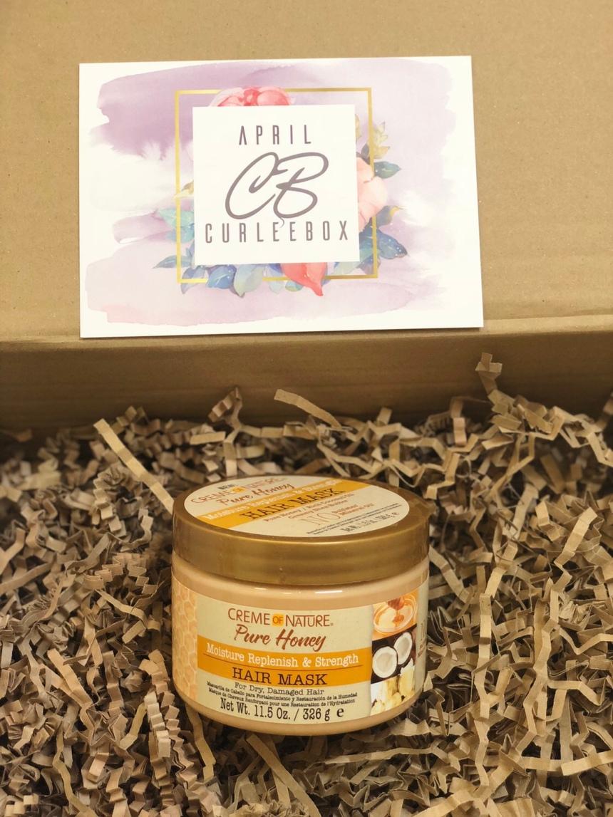 Creme of Nature Pure Honey Moisture Replenish & Strengthening Mask 11.5oz