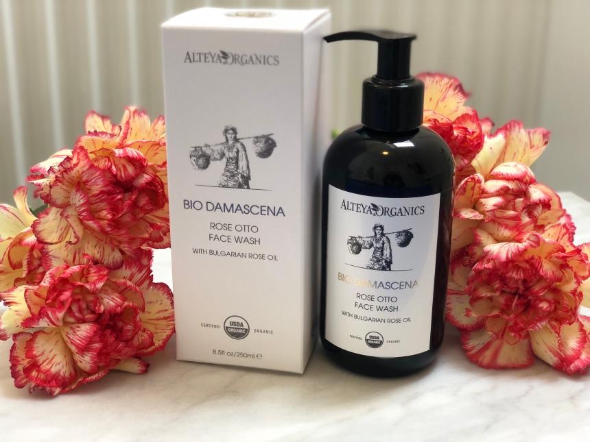 Alteya Organics bio damascena rose otto face wash