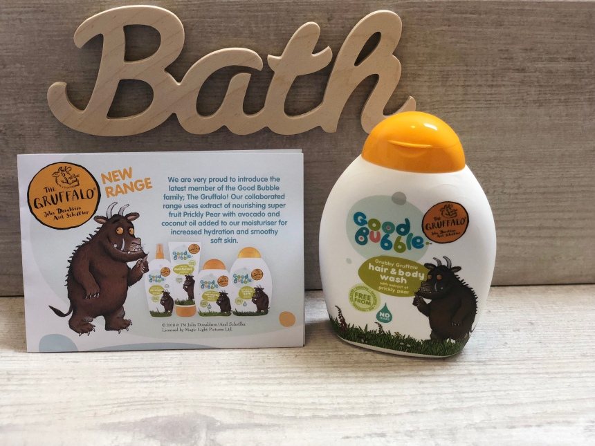 Good bubble Gruffalo Hair & Body Wash with Prickly Pear Extract