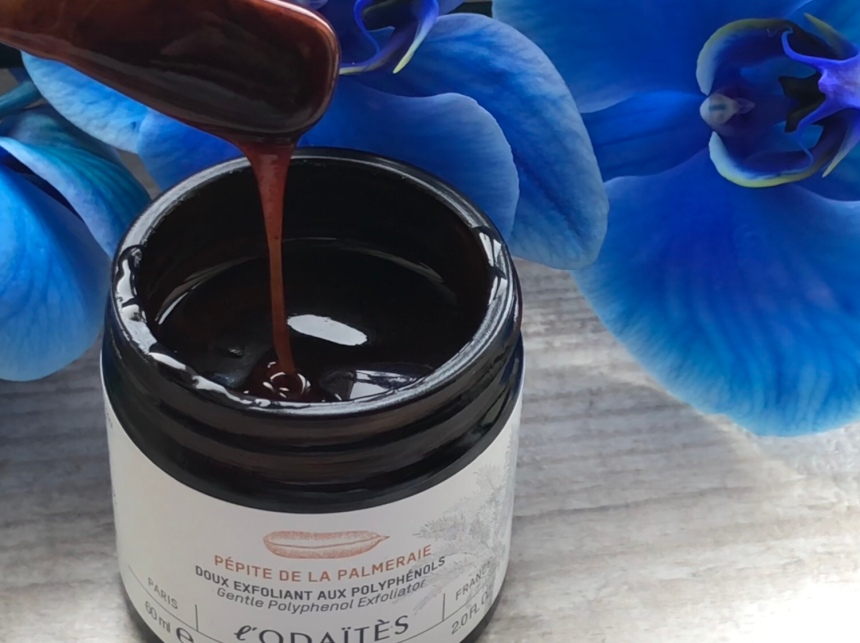 l'Odaïtès Pépite de la Palmeraie - Gentle Polyphenol Exfoliator 60 ml