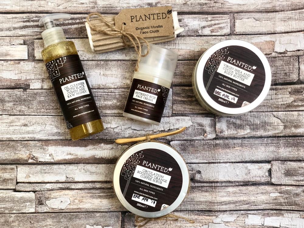 Planted skincare