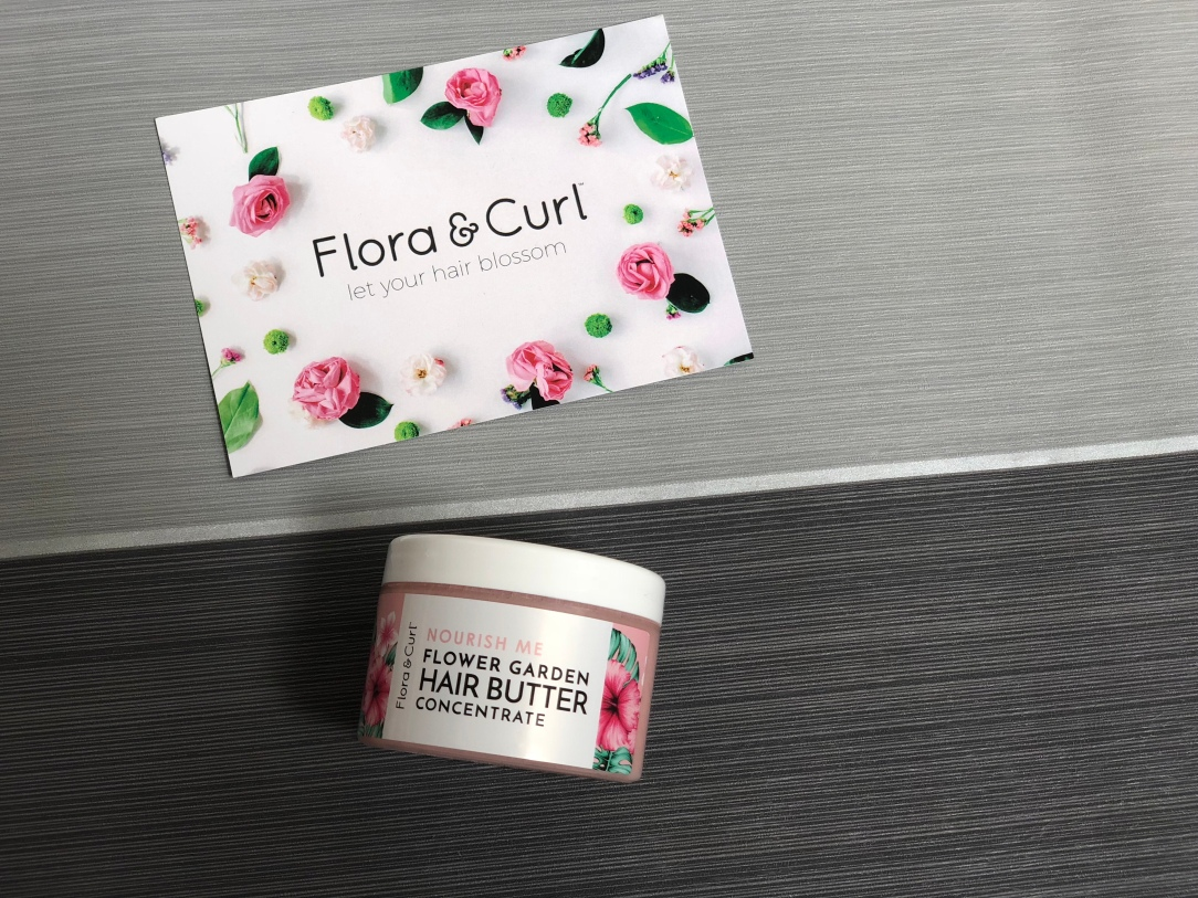 Flora & Curl flower garden hair butter