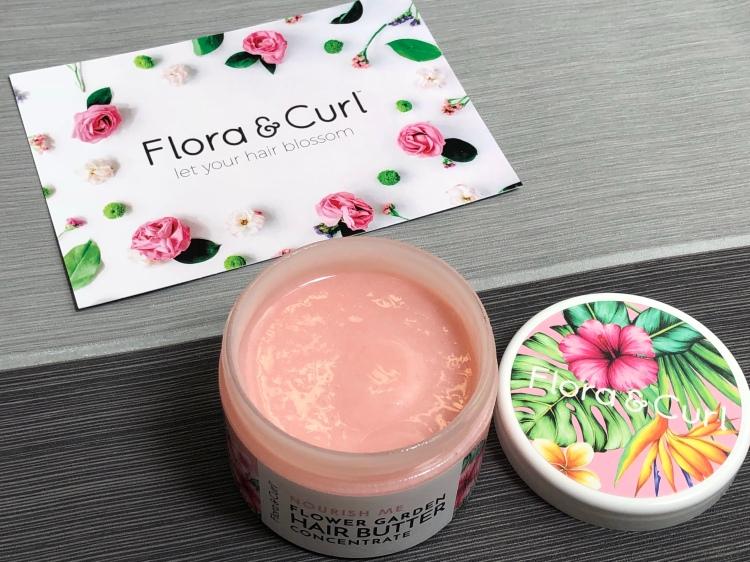 Flora & curl flower garden hair butter