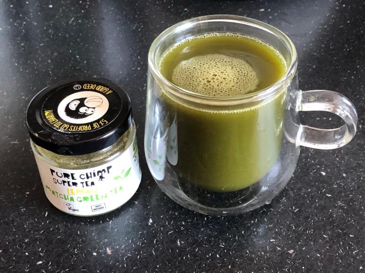 Purechimp lemon matcha green tea