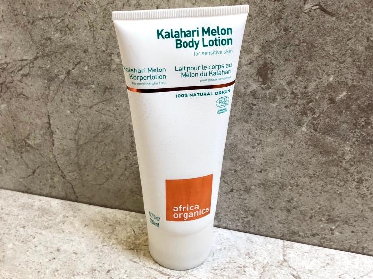 Africa organics kalahari melon body lotion