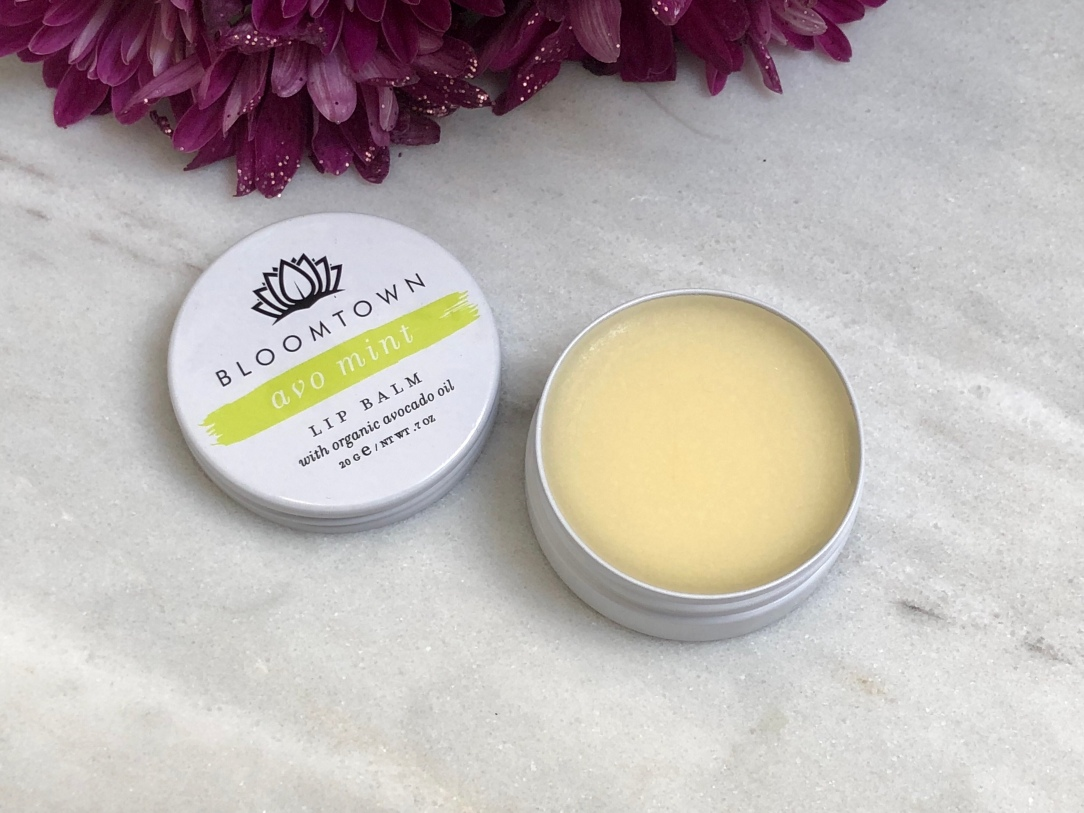 Bloomtown avo mint lip balm