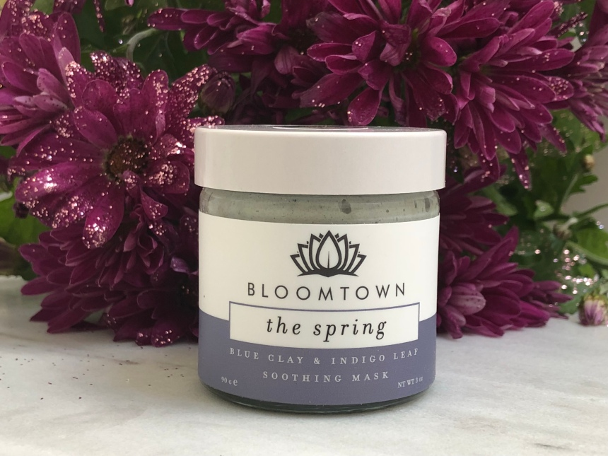 Bloomtown the spring blue clay & indigo leaf soothing mask
