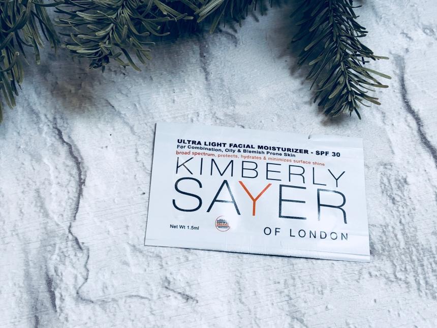 Kimberly sayer ultra light facial moisturizer