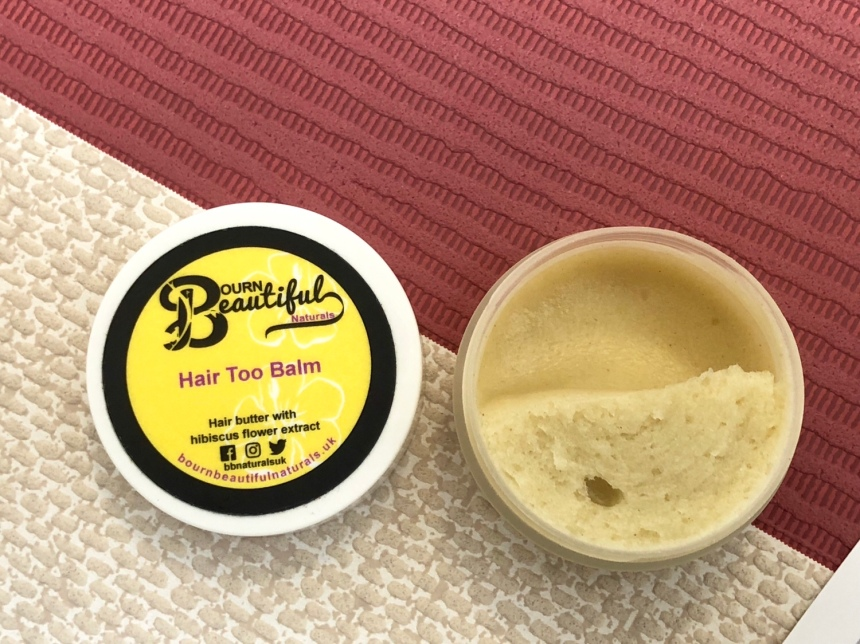 Bourn beautiful Naturals Hair too balm