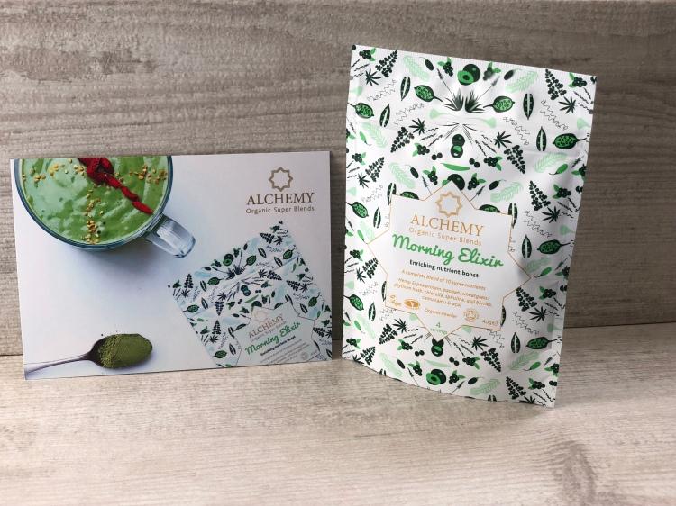 Alchemy organic super blends morning elixir
