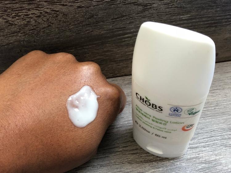 CHOBS Aloe vera peeling lotion