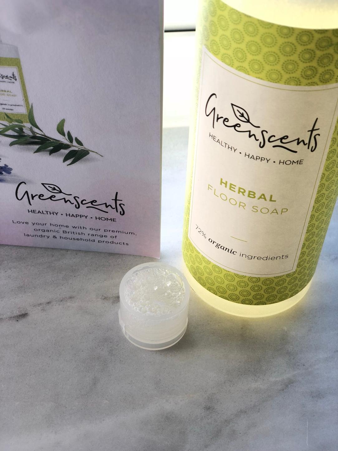 Greenscents herbal floor soap