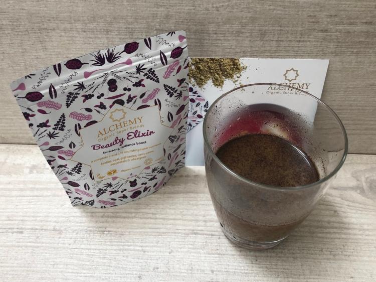 Alchemy organic super blends beauty elixir