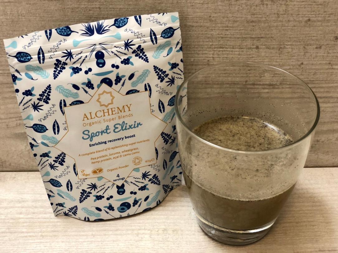 Alchemy organic super blends sport elixir