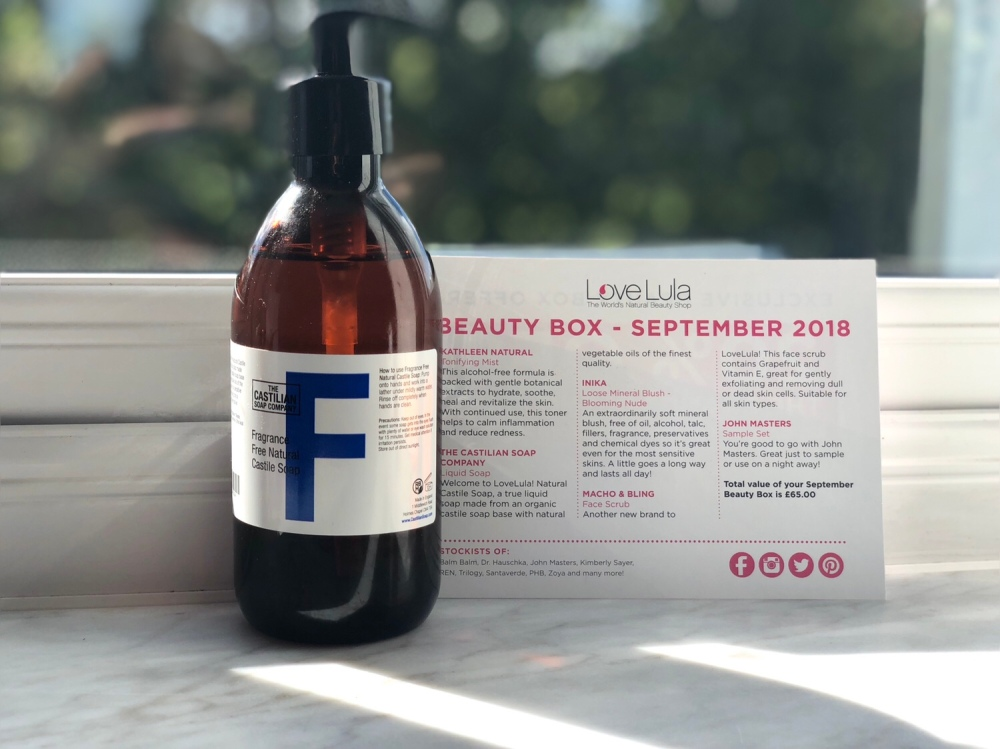 The castilian soap company fragrance free natural castile soap