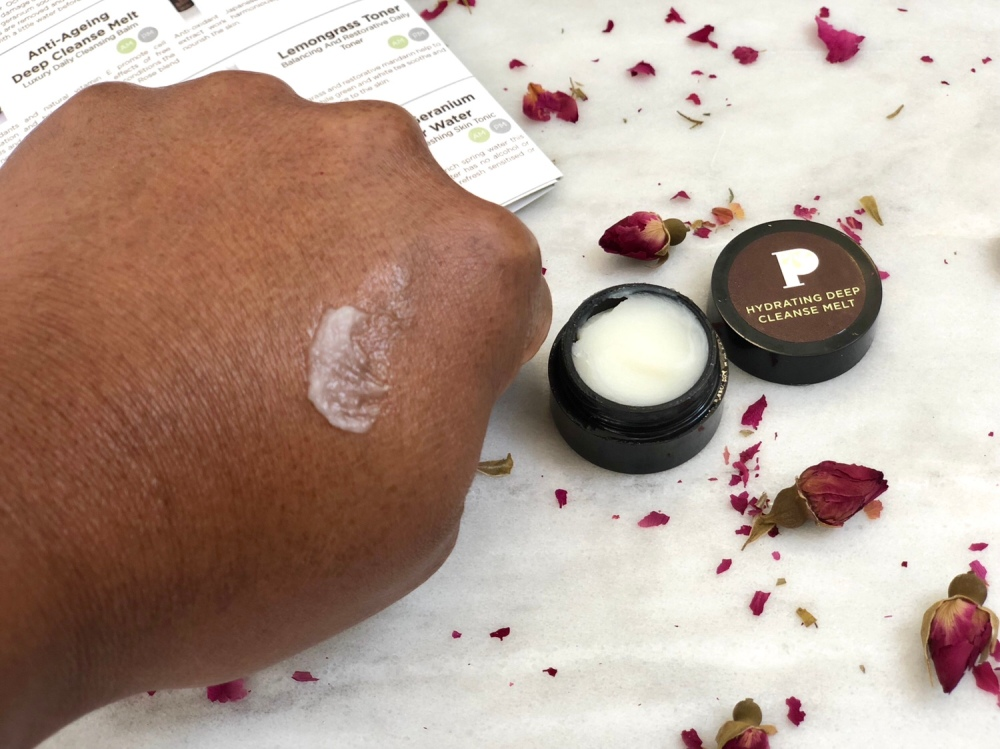 Pinks boutique hydrating deep cleansing melt