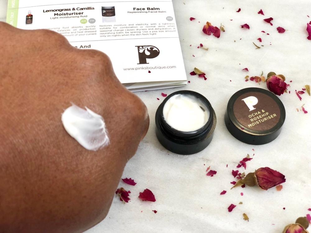 Pinks boutique Ocha & Rosehip moisturiser