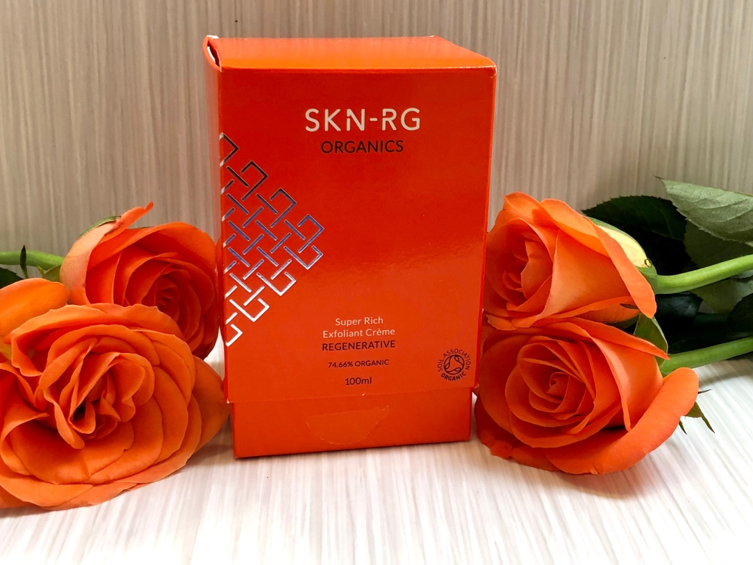 SKN-RG Organics super rich exfoliant creme