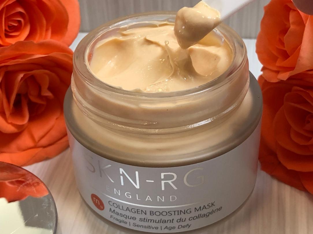 SKN-RG organics collagen boosting mask