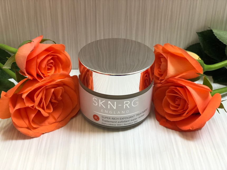 SKN-RG organics super rich exfoliant treatment