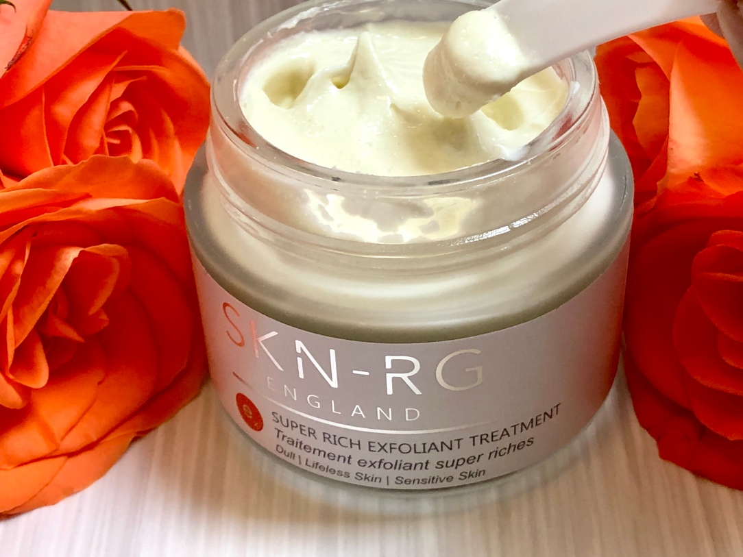 SKN-RG organics super rich exfoliant treatment