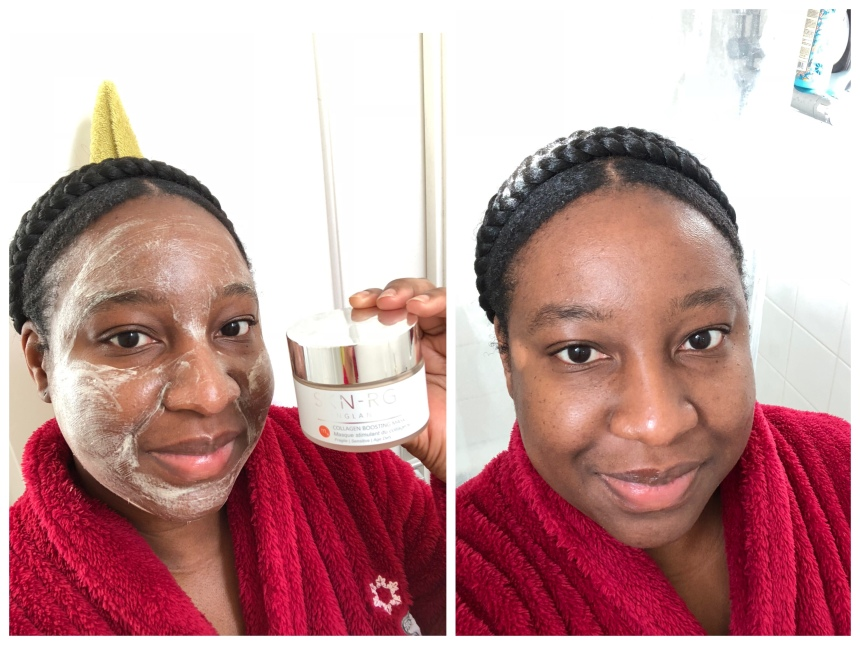 SKN-RG organics collagen boosting mask