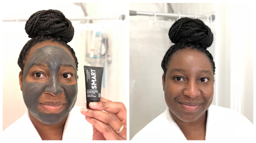 Madara Smart Anti-Pollution Charcoal & Mud Repair Mask