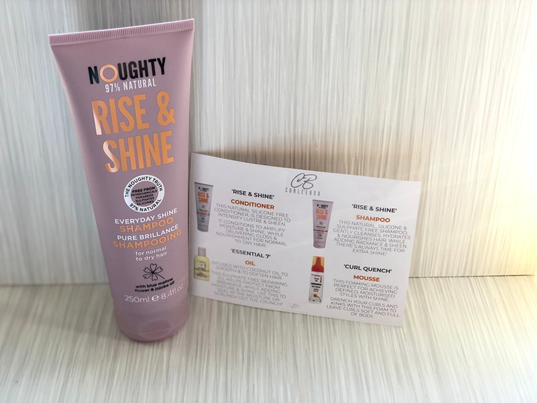 Noughty Rise & Shine Shampoo