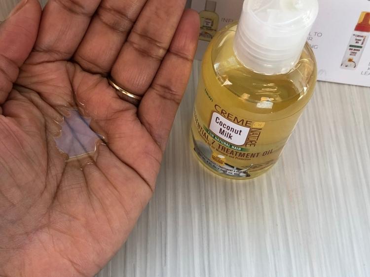 Creme of Nature Coconut Milk Essential 7 Treatment Oil
