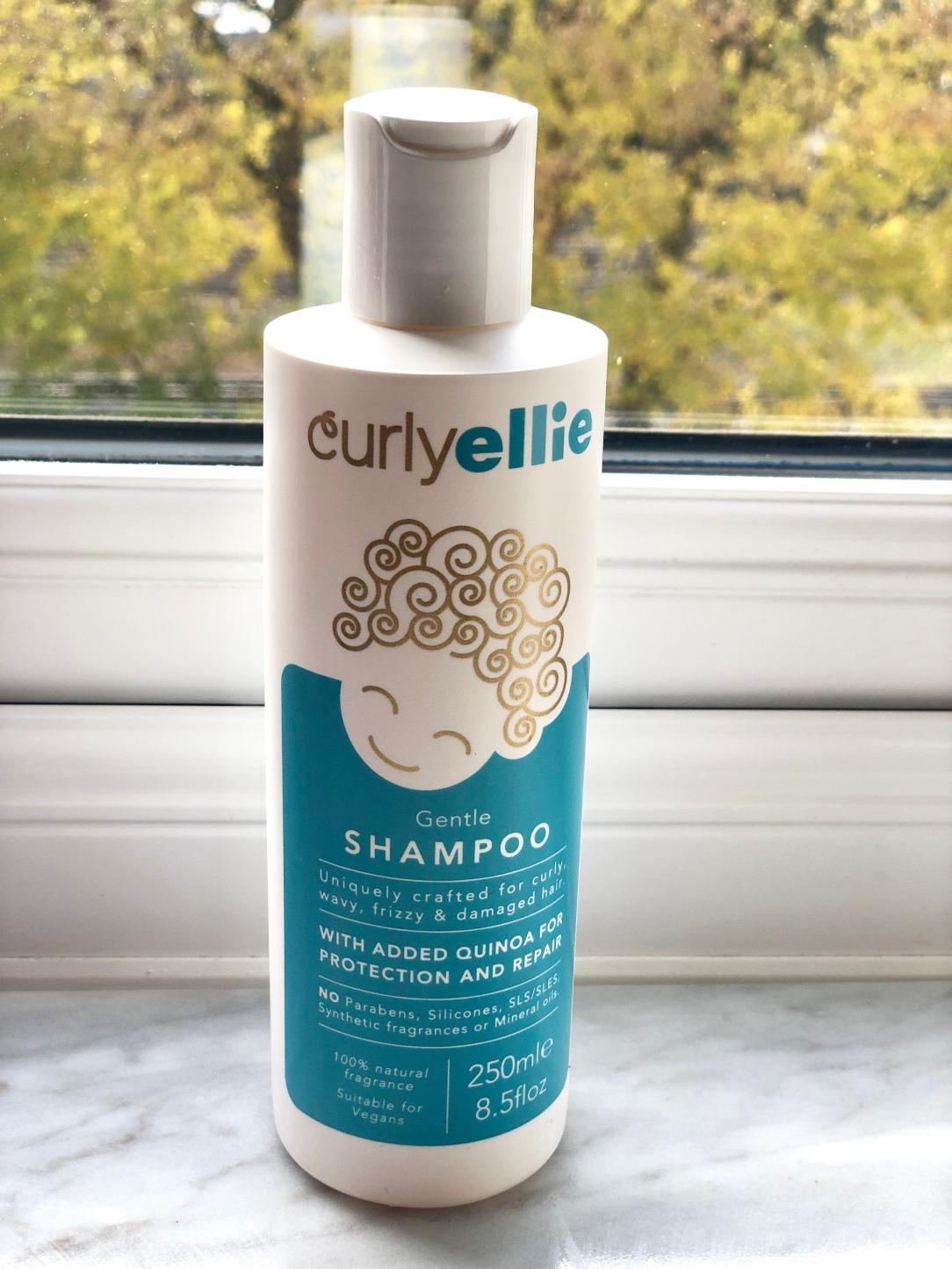 Curlyellie gentle shampoo