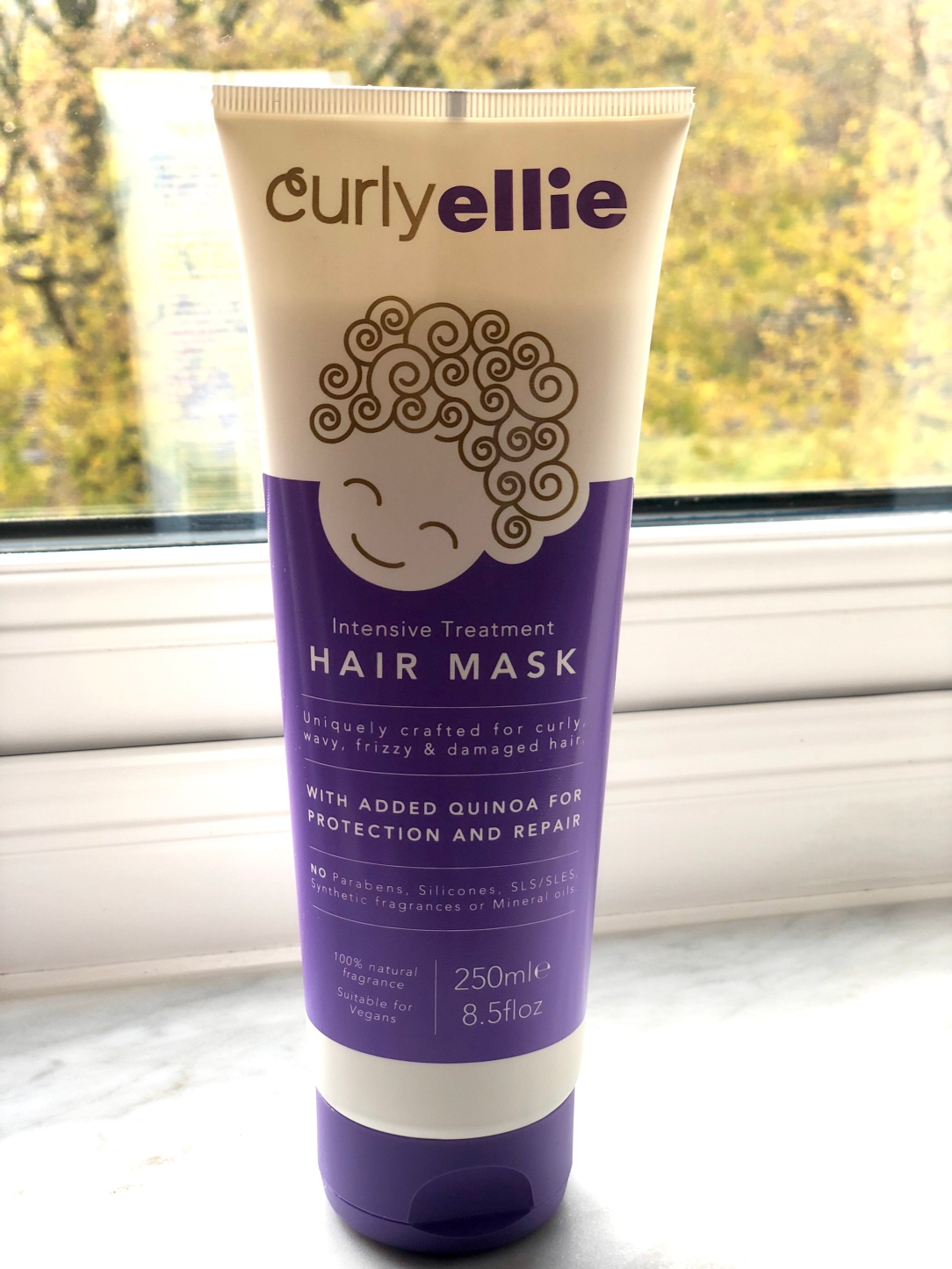 Curlyelluie intensive treatment hair mask